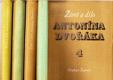 Život a dílo Antonína Dvořáka 4 sv.