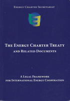 The Energy charter treaty and related documents